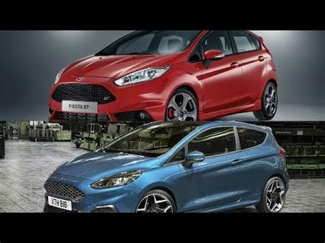 ford st 2018 7th 2017 ford st vs new 2018 ford st