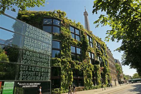 Blanc Vertical Garden by Quai Branly Museum Vertical Garden Blanc