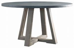 Saratoga Round Dining Table Top - Contemporary - Dining