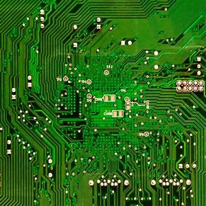 Free Images : computer, board, technology, line, green ...