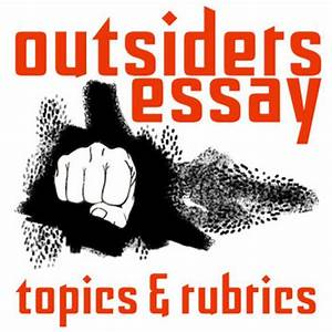 The Outsiders Essay Questions Buy A Essay Paper The Outsiders Book  The Outsiders Discussion Questions And Answers Pdf Buy Assignments Online  Australia Sample Argumentative Essay High School also Thesis Statement Persuasive Essay  Thesis In A Essay
