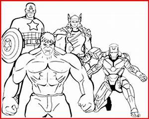 Ausmalbilder Superhelden Marvel - Rooms Project - Rooms