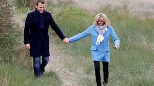 Emmanuel Macron's wife, Brigitte Macron, who is 24 years ...