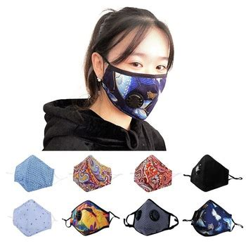 oem cotton black  exhaust pollen allergy pm mask