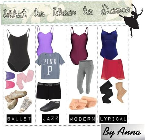 What to wear to dance class | Dance class Dancing and Polyvore