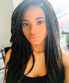 African American Women Braid Hairstyles