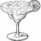 Margarita Glass Clipart Lime Glasses Drawn Ice Drawing Coloring Sketch Pages Template Cup Recipes Clipartmag sketch template