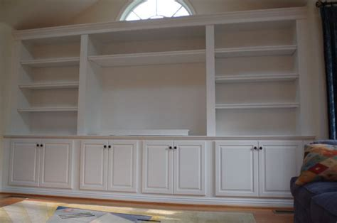 built ins  dinning room larger cabinet bases  kids