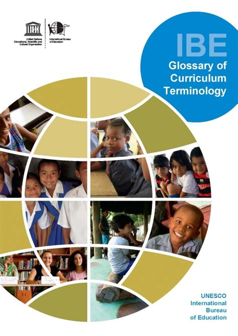 unesco international bureau of education glossary of curriculum terminology international bureau