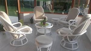 Salon En Rotin Pour Veranda : meuble rotin veranda ~ Melissatoandfro.com Idées de Décoration