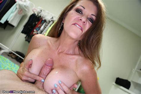 Mature Babe Raquel Devine Gives Dude A Handjob 1 Of 2