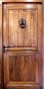 Porte Louis XIV à 2 panneaux Portes d'entree Portes de style Portes Antiques
