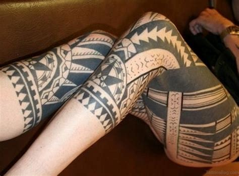 classic tribal tattoos  thigh
