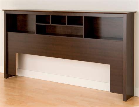 Prepac Headboard Bookcase by Prepac King Bookcase Headboard In Espresso Modern