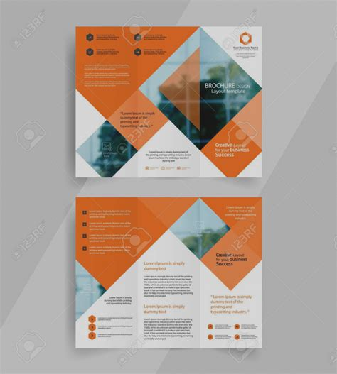 Brochure Template Design Of Brochure Template Design Free Architecture