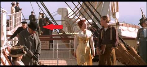 fehler mann mit hut aus dem film titanic