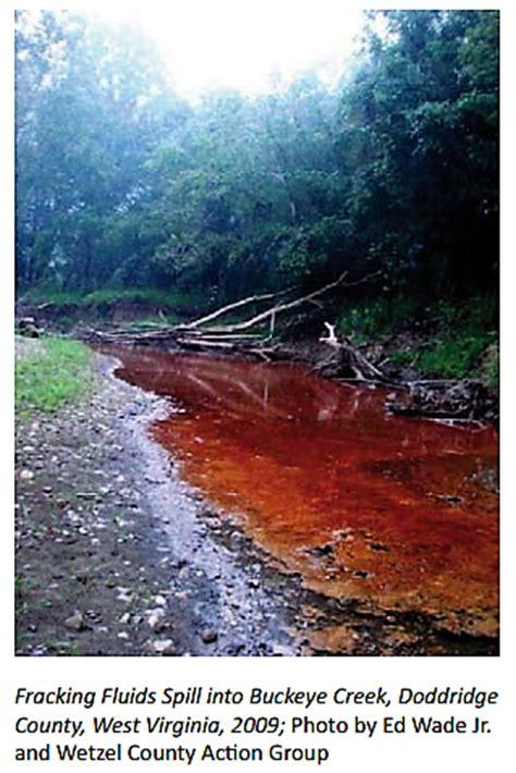 fracking   numbers  damage   water land