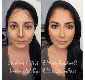 Face contouring tutorial : makeup | Make-up ideas ღ ...