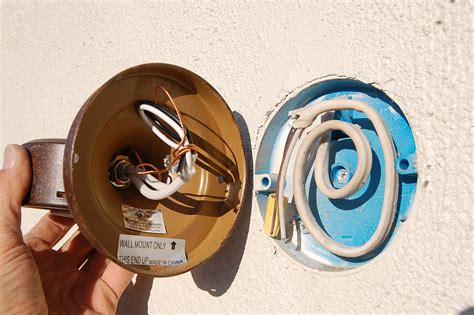 install exterior light without junction box installing in wall light junction box installing free