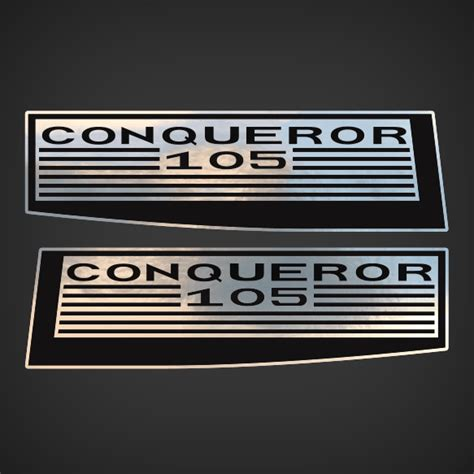 Chrysler Decals by 1997 Chrysler Conqueror 105 Decal Set
