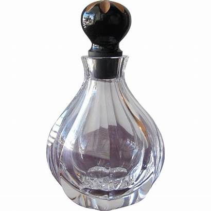 Perfume Bottle Faberge Crystal Ex Condition Ruby
