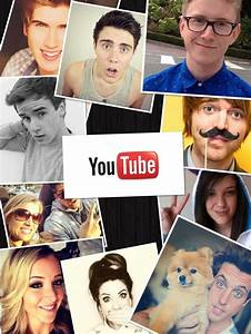 YouTube collage. | YOUTUBERS! | Pinterest