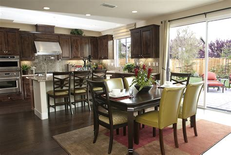 dining room and kitchen combined ideas kitchen island with attached dining table room
