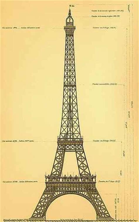 eiffel tower paris original drawing  gustave eiffel