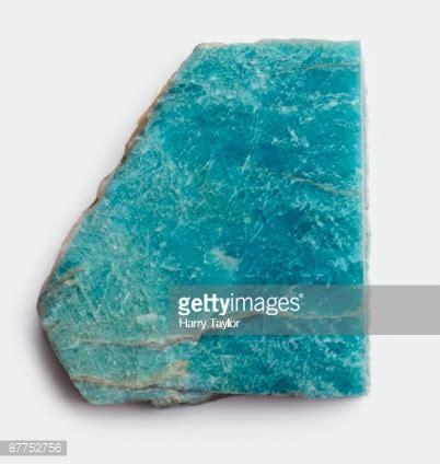 79ct blue green amazonite amazonite a bluegreen microcline feldspar stock photo