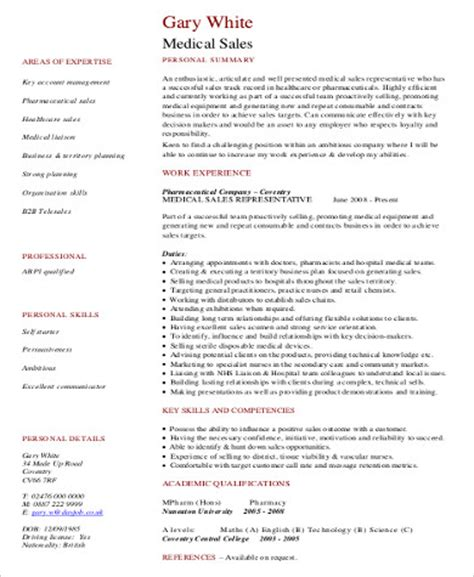 Professional Sle Resume by Resume Format Sle 8 Exles In Word Pdf