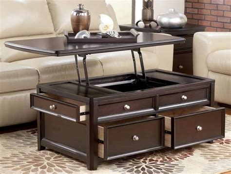 Coffee Table Lift Top Tv Tray