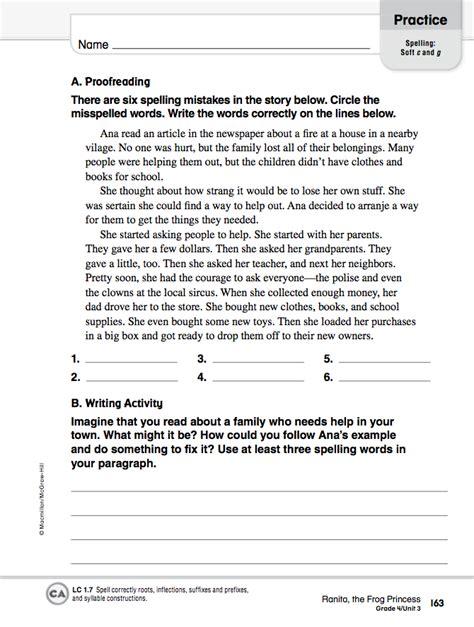Homework 20122013 April 10  Language Arts Worksheets