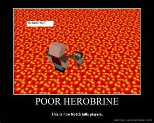 Minecraft Notch vs Herobrine