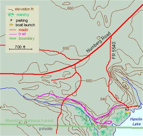 Hamlin Lake Boat Launch by Hamlin Marsh Map And Guide