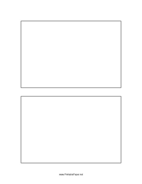 printable postcard template  inches
