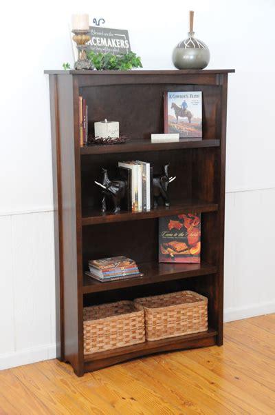 Manhattan Bookcase by Manhattan West Series Bookcase Amish Valley Products