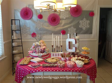 baby shower setup ideas baby it s cold outside baby shower newlywed greggs