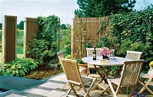 Terrasse Günstig Bauen : sichtschutz garten g nstig selber bauen kunstrasen garten ~ Michelbontemps.com Haus und Dekorationen