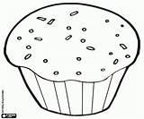 Muffin Coloring Breakfast Queque Magdalena Printable Colorear Pintar Chocolate Dibujos Muffins Kleurplaat Printables Tarro Miel Ontbijt Drawing Colorir Preschool Desenho sketch template