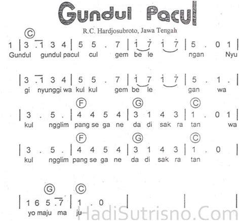 not angka lagu sunda pileuleuyan my indonecia
