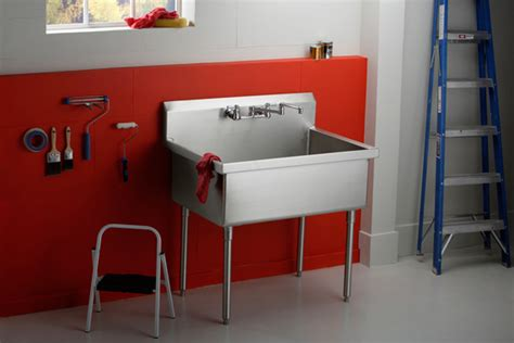 Sink In Garage by 45 Garage Sink Ideas Adding Plumbing To Studio Workshop
