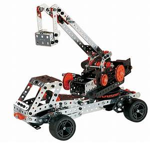 Meccano Erector Metal Toy Construction Sets - Tool Craze