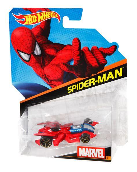 Hot Wheels® Marvel Character Cars  Spiderman  Shop Hot