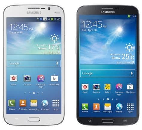 galaxy mega phone samsung launches galaxy mega phones in india mobile and