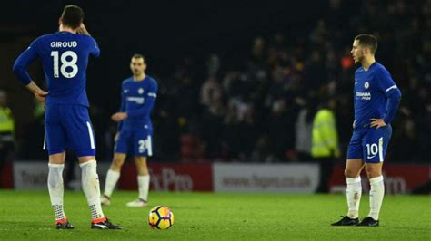 Premier League: Watford late show sinks 10-man Chelsea 4-1