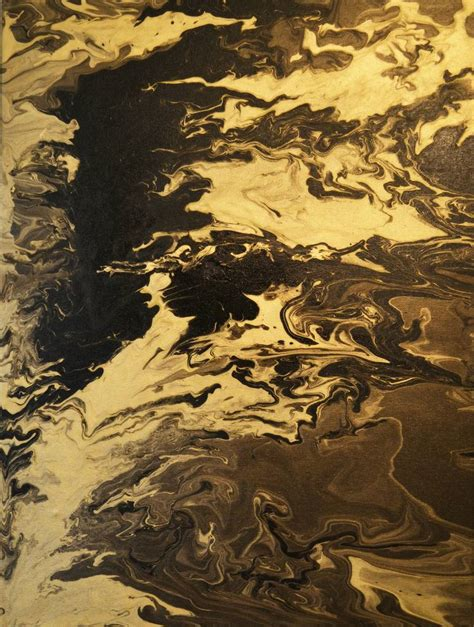 Abstract Black Gold Painting by Abstract Black Gold Painting By Mustafa Alatbash Saatchi