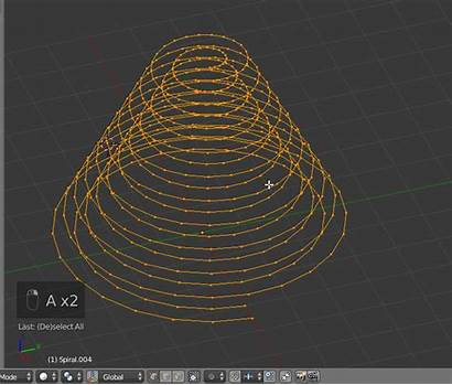 Object Same Curve Ramp Offset Array Rotate