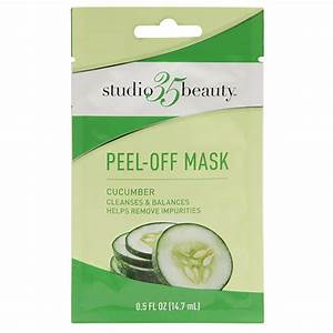 Drugstore peel off face mask