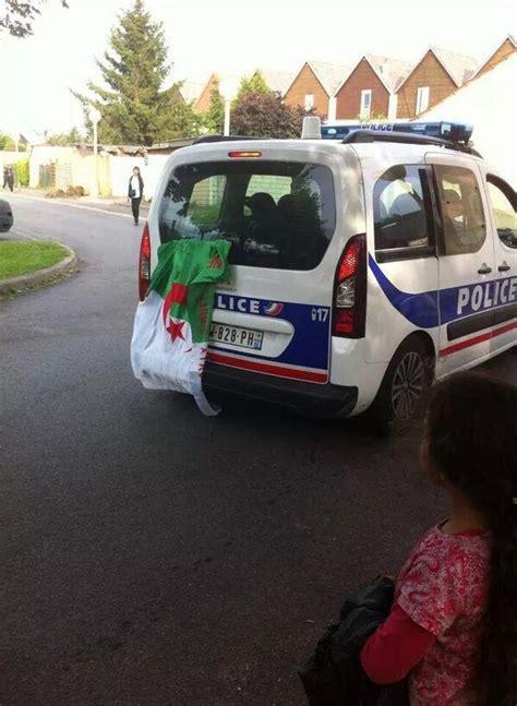 sur si鑒e voiture drapeau algerien sur voiture riposte laïque
