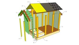 Ana White Wood Shed Plans by 16 Diy Playhouses Your Kids Will Love To Play In The